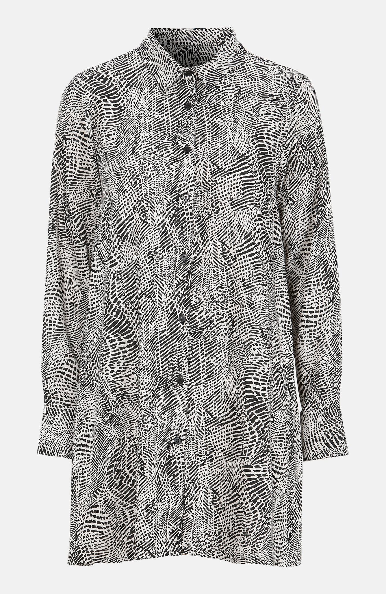 A-linjeformet skjorte