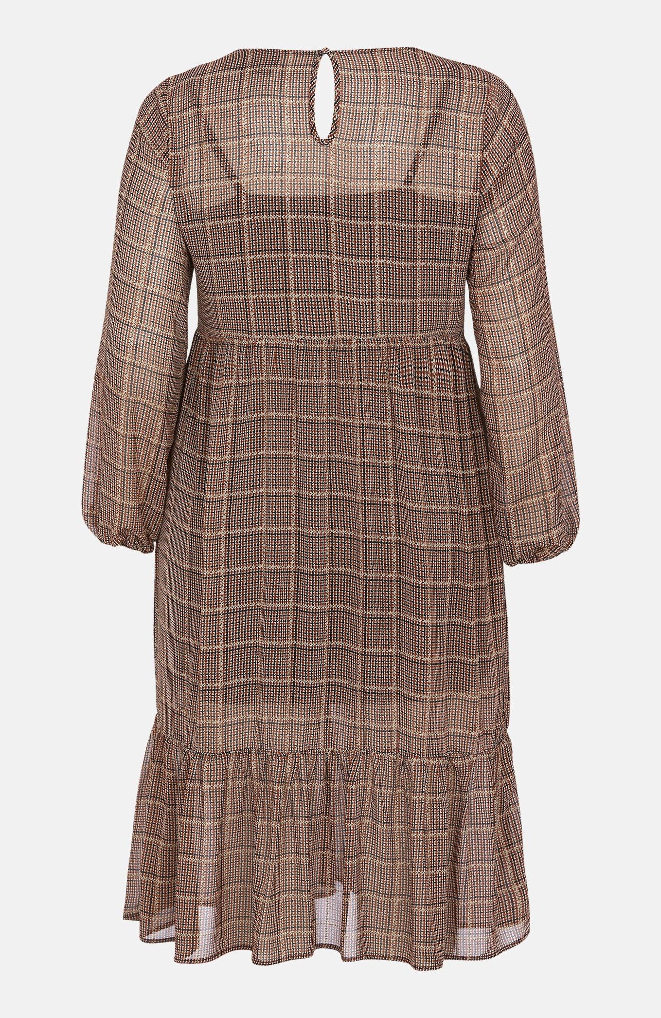 Mønstret kjole Fatima