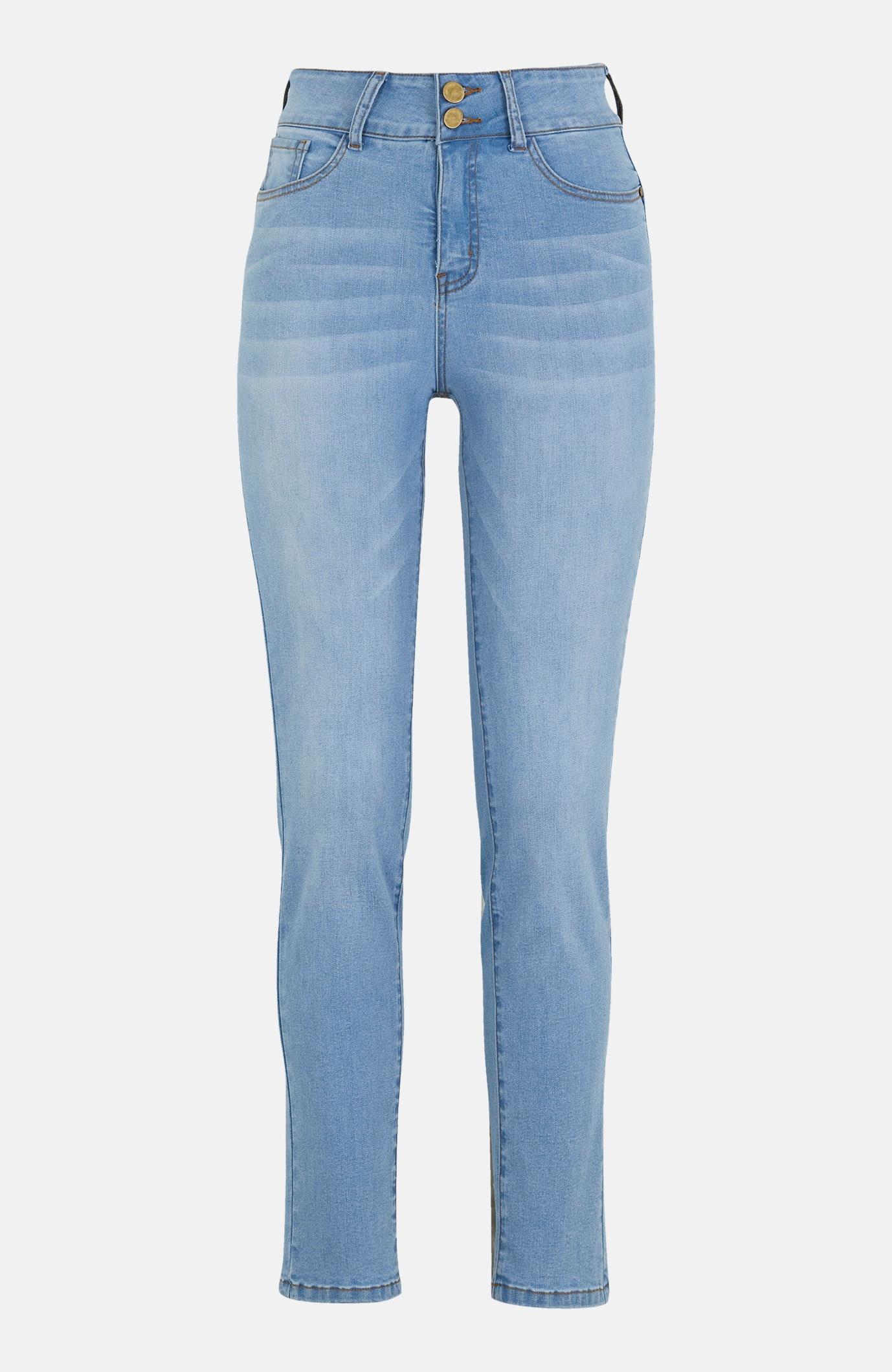 Formede jeans hög midja
