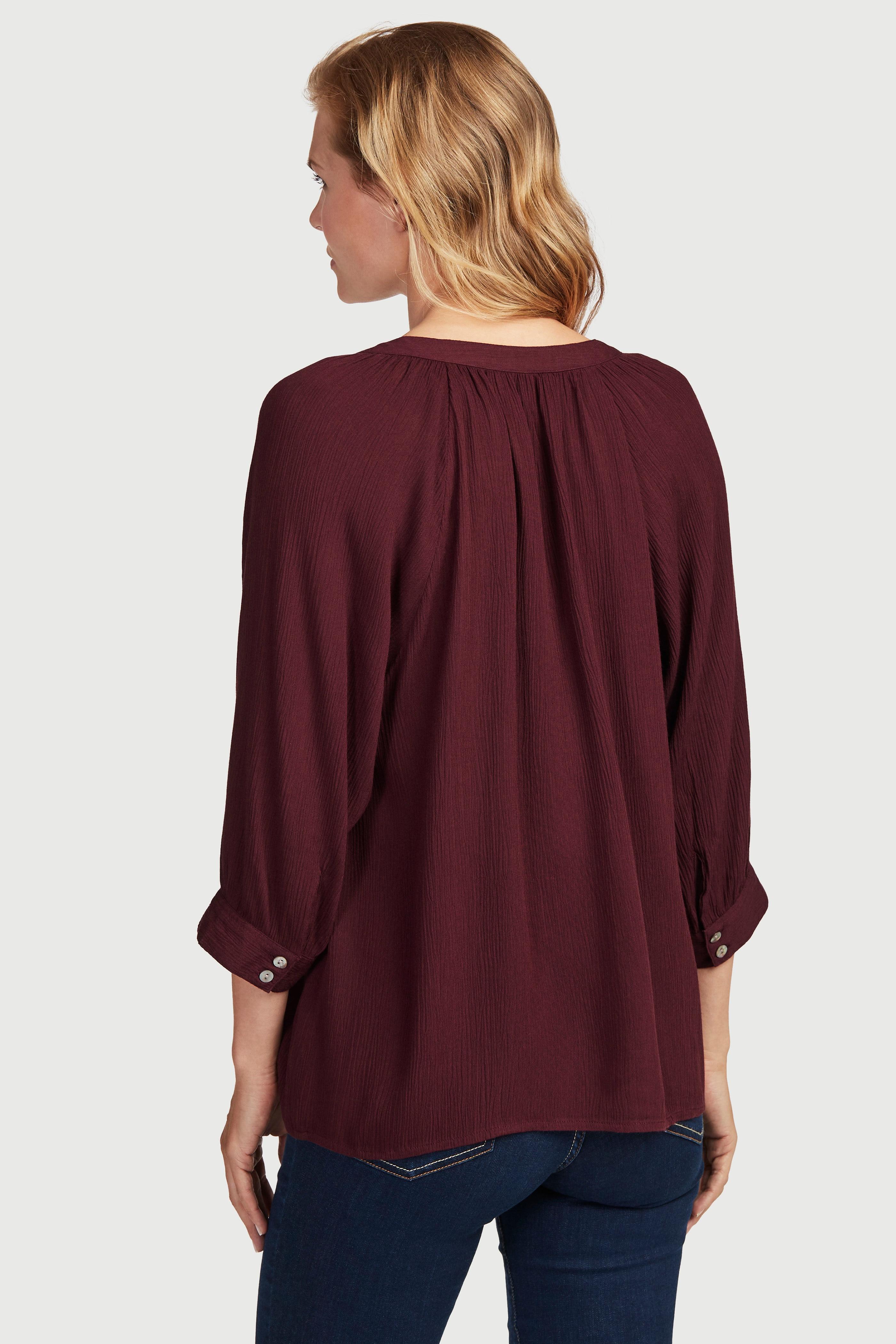 Crepe bluse