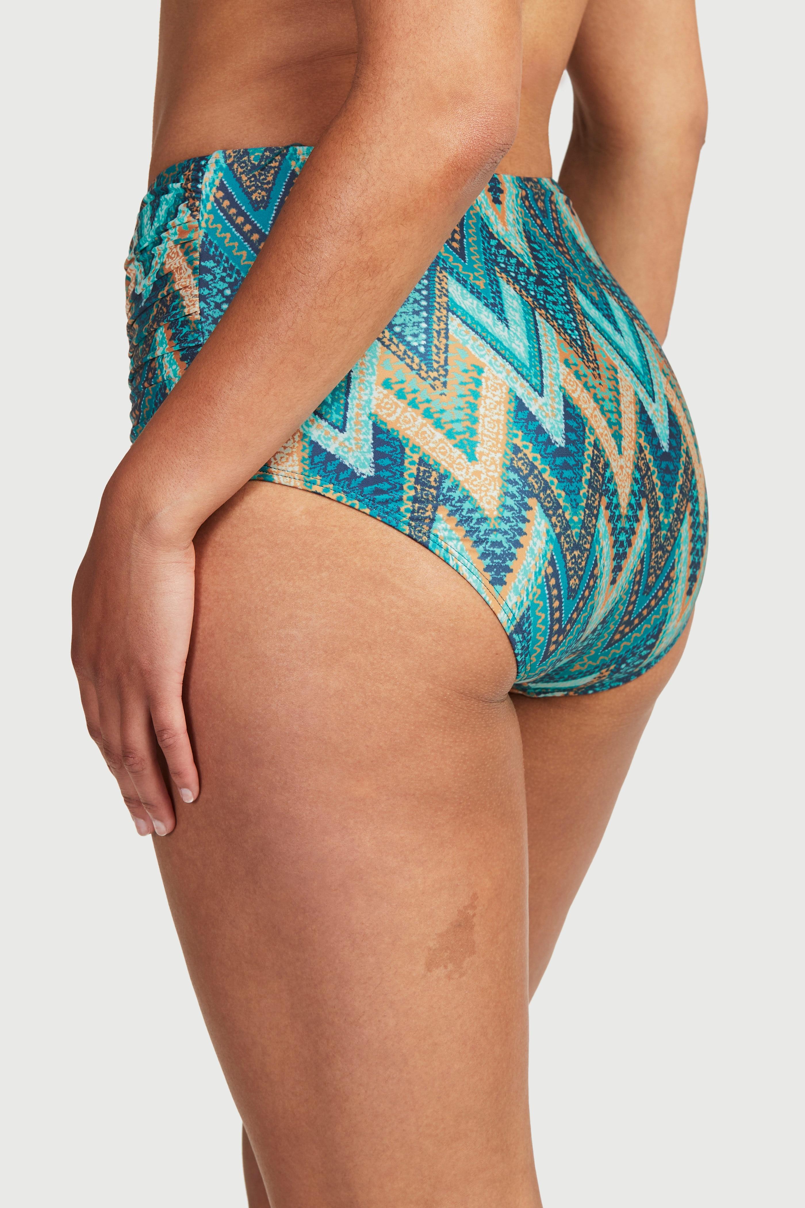 Bikiniunderdel med høy midje