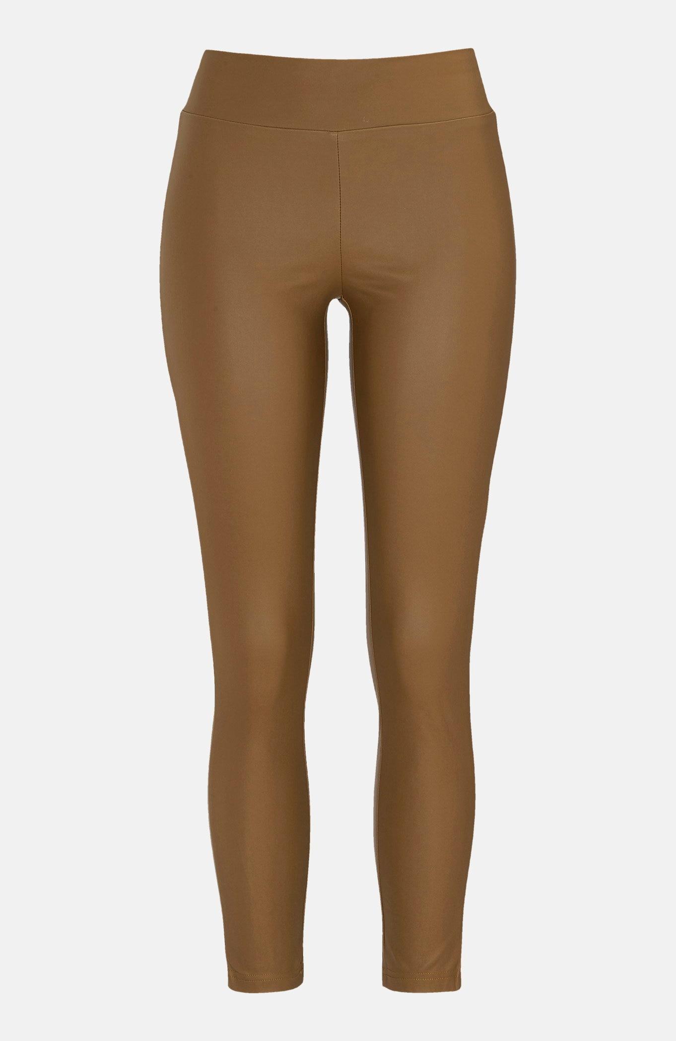 Bukse i imitert skinn Pam