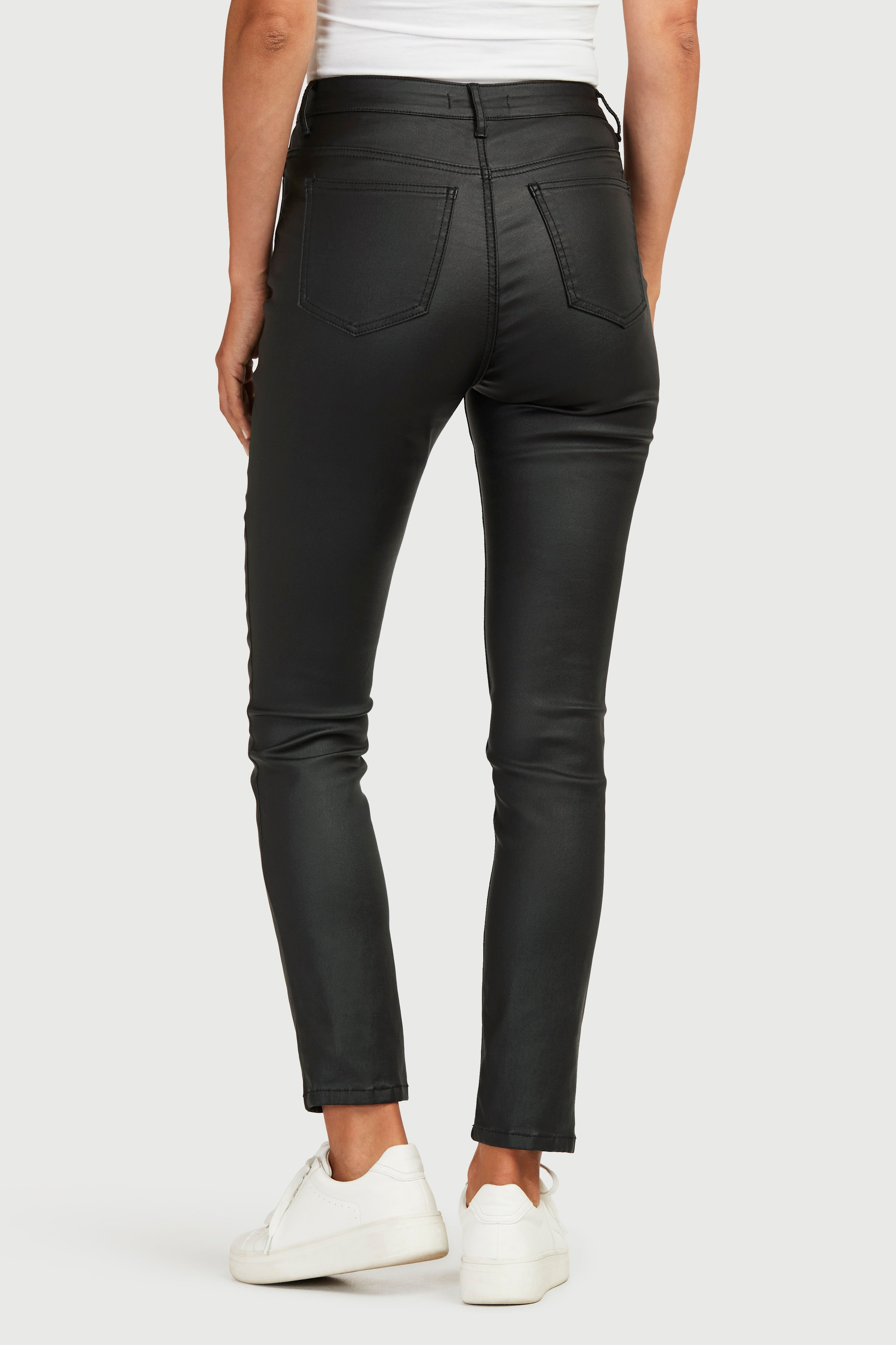 Superelastisk bukse med vokset overflate