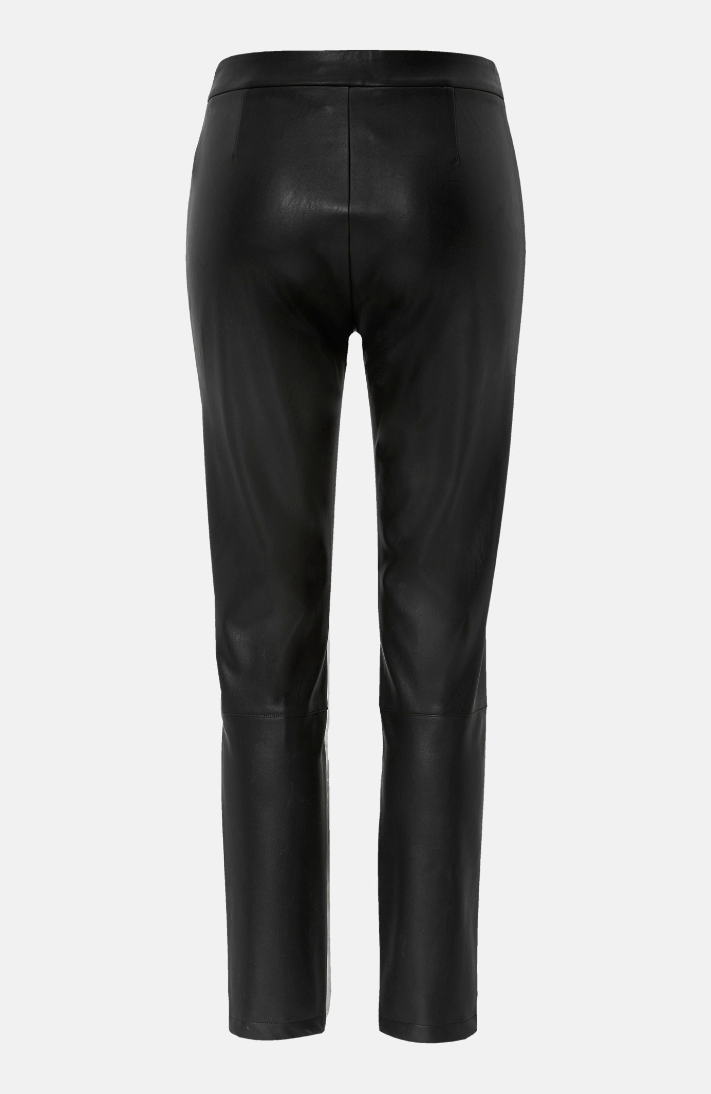 Bukse i imitert skinn