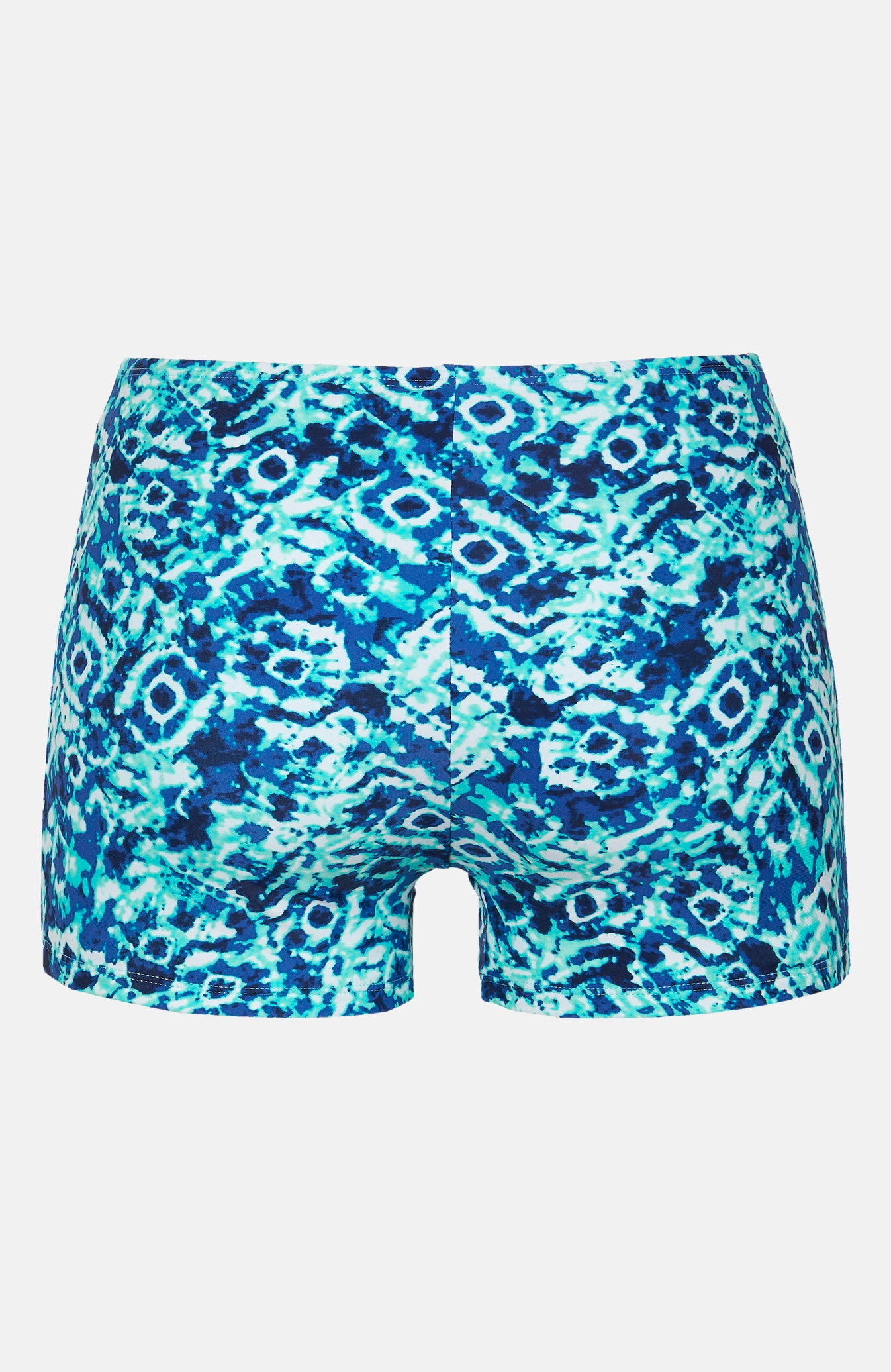 Blåmønstret bikinitruse bokser