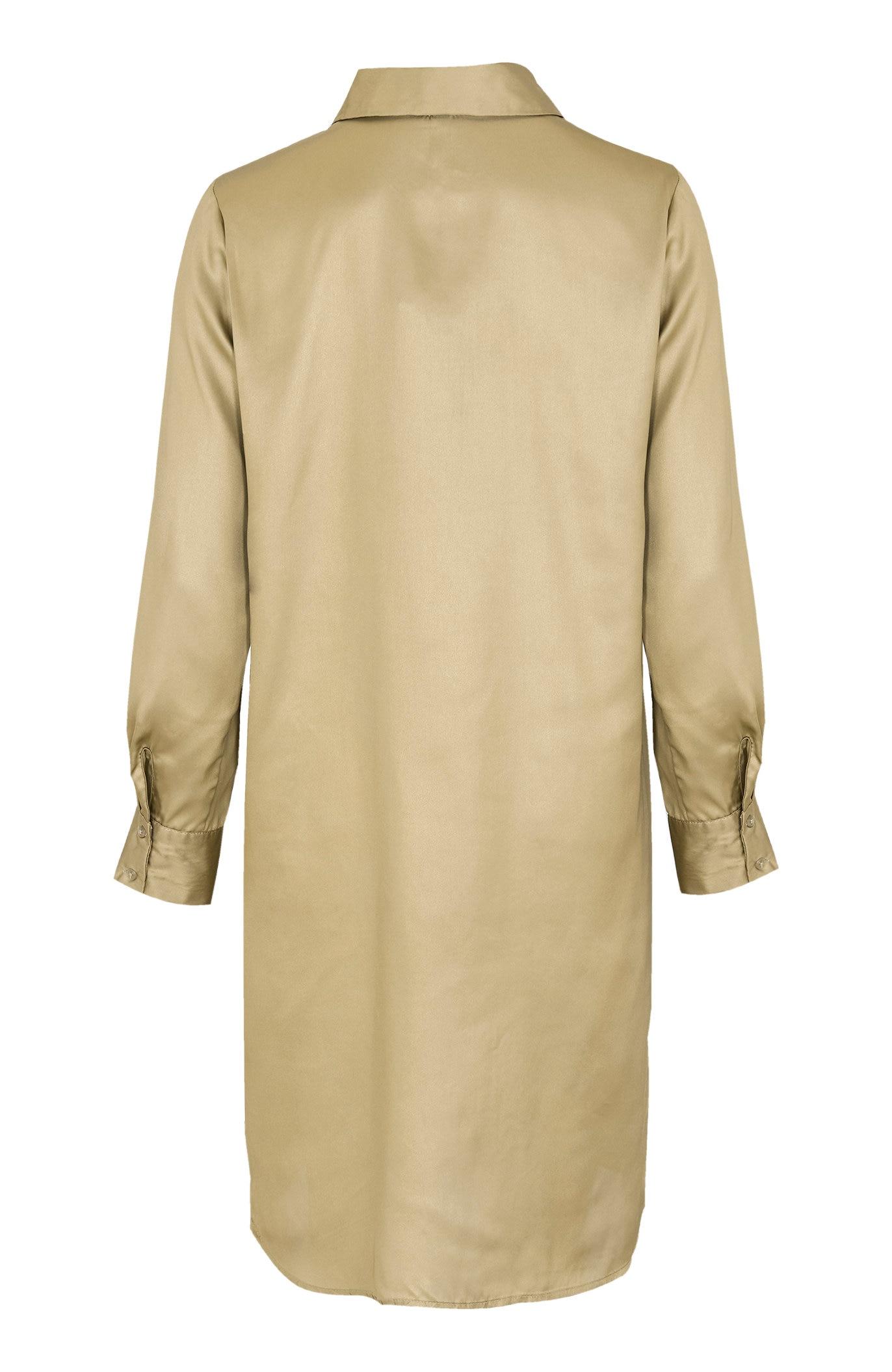 Gullfarget langskjorte Candie
