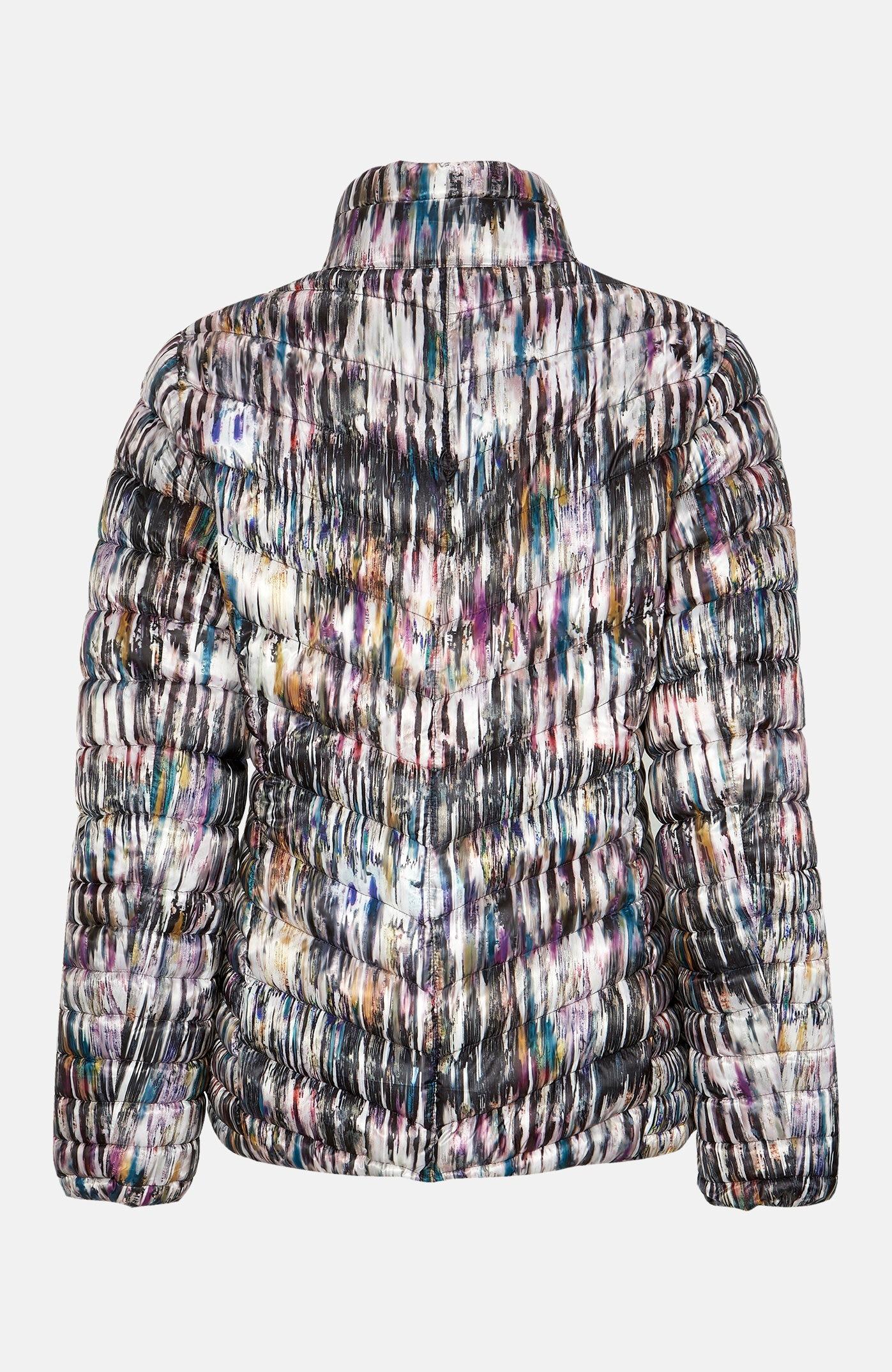 Mønstret, lett jakke