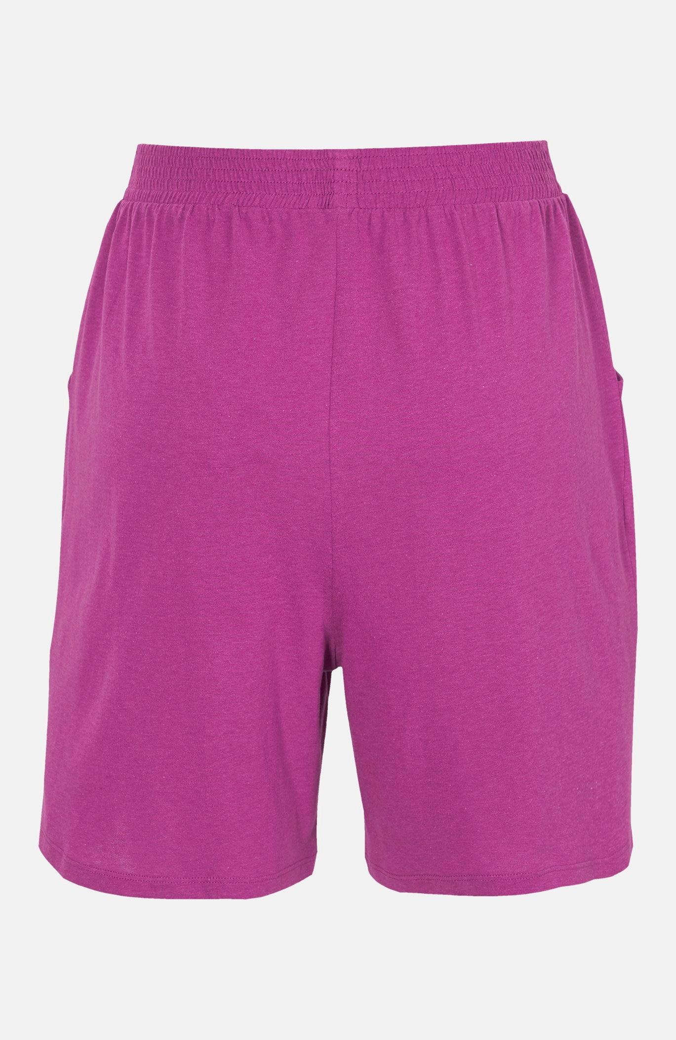 Mønstrede shorts i trikot 2-pack
