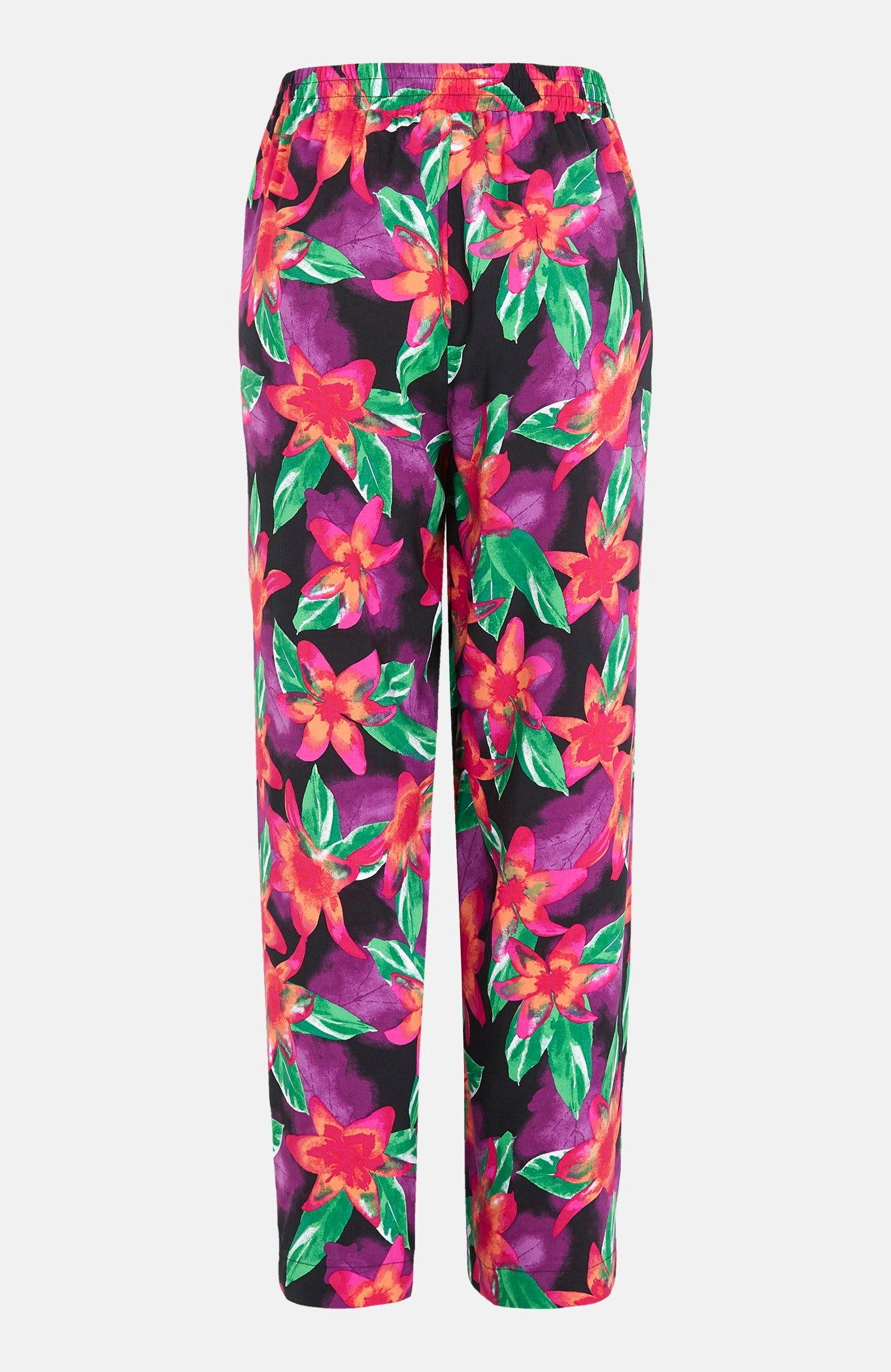 Vid, mønstret bukse